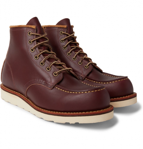 best men's winter boots - Red Wing Classic Moc Leather Winter Boots