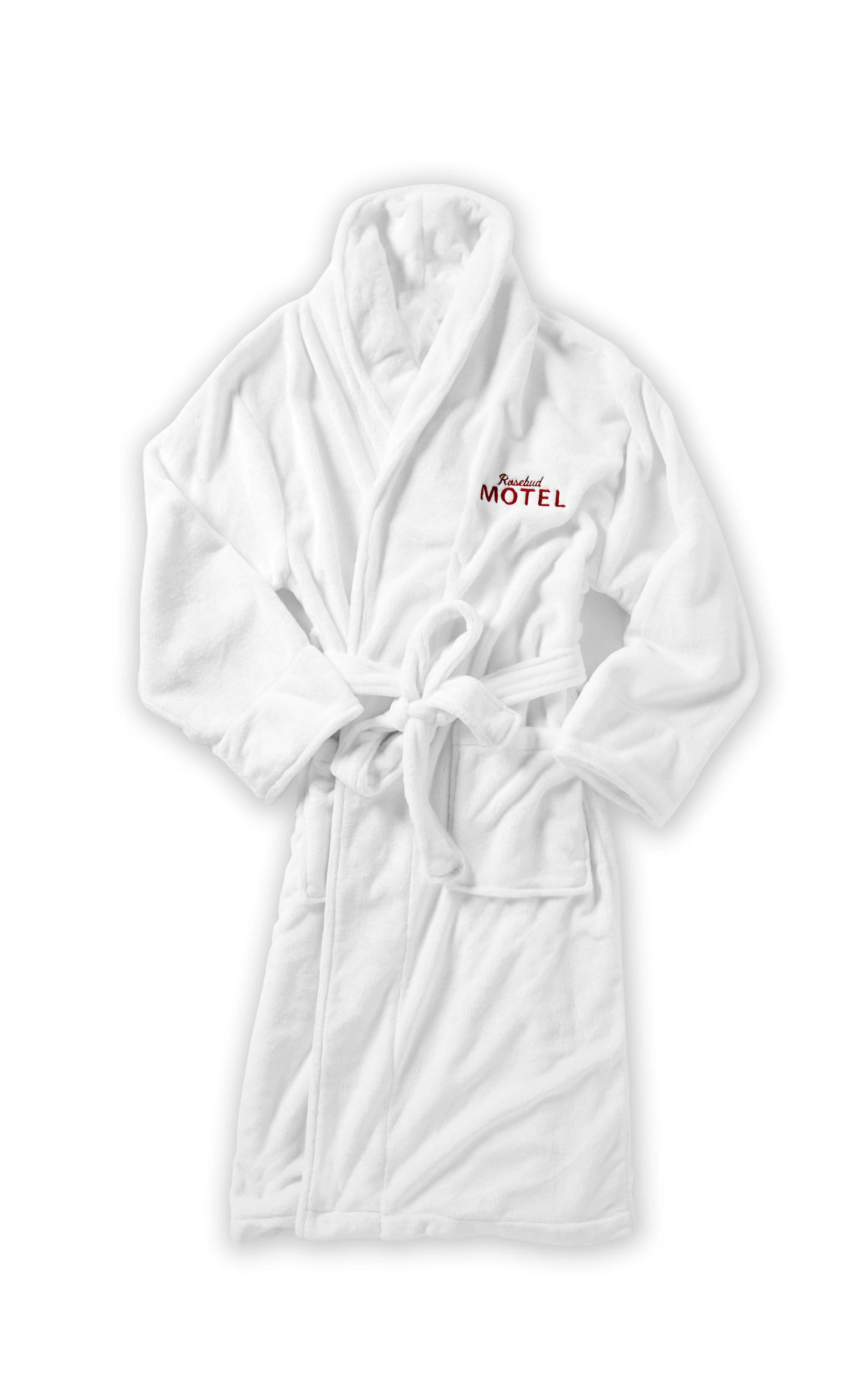 schitt's creek gifts, rosebud motel bathrobe