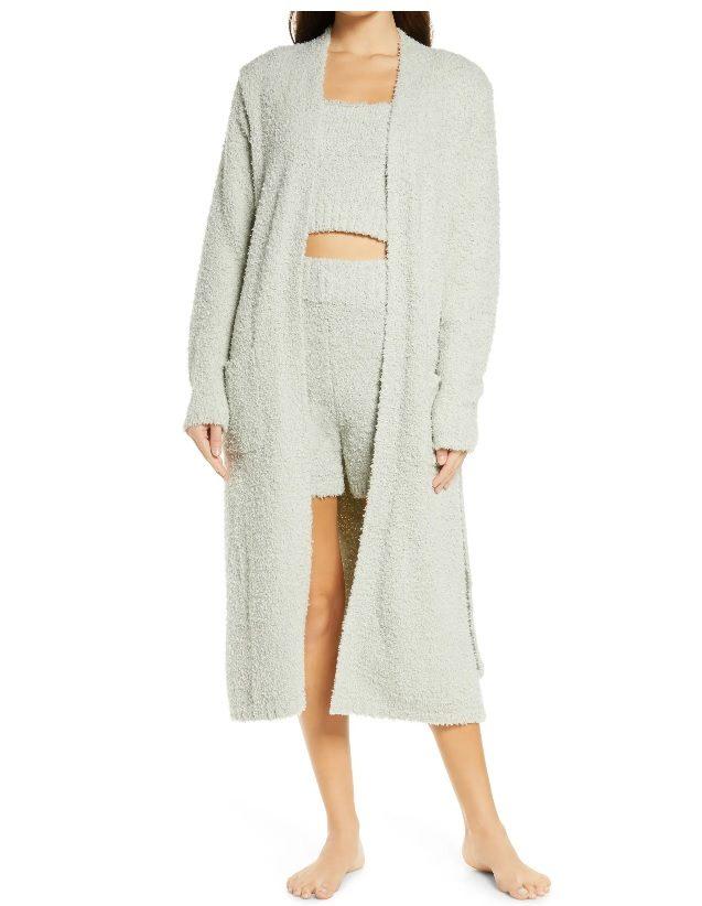 Cozy Knit Bouclé Robe by SKIMS