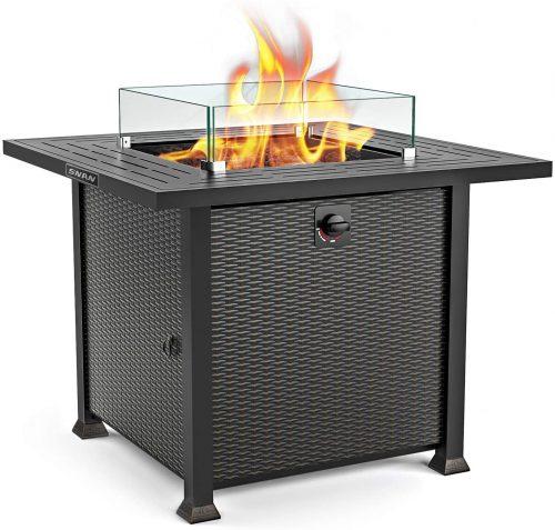 SNAN Propane Fire Pit
