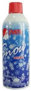 christmas car decorations santa snow spray
