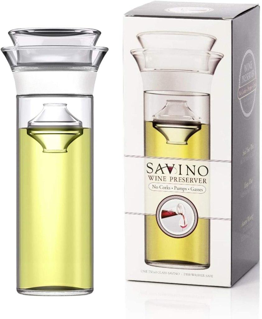 Savino Glass Wine Preserver