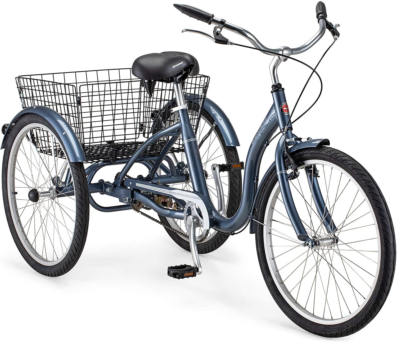 Schwinn Meridian blue adult tricycle