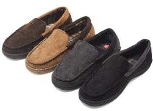 Hanes mocassin slippers