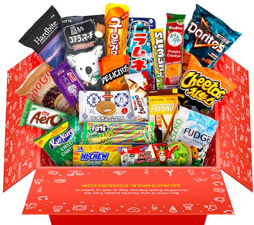 stoner gifts - Munchpak Snack Subscription Box