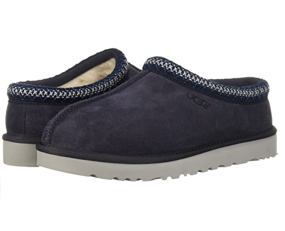 UGG Men's Tasman Slipper (navy blue men's house slipper )