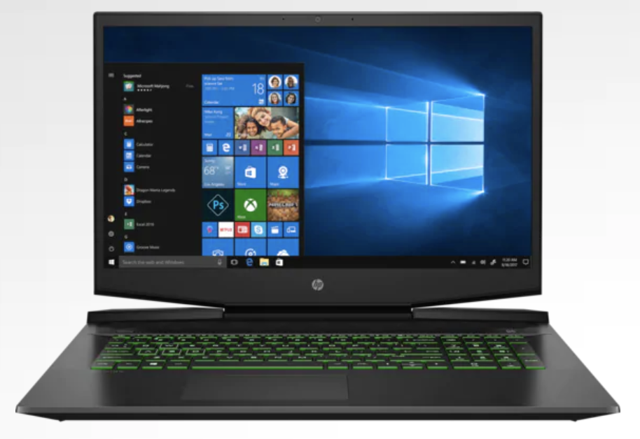 HP Pavilion Gaming Laptop 17, best black friday gaming laptop deals of 2020