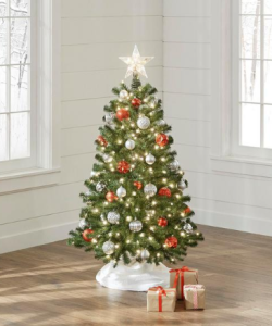 north valley spruce artificial Christmas tree, budget Christmas gifts