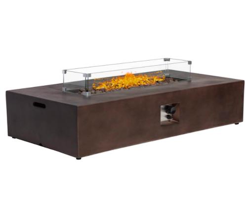 SUNBURY Outdoor Propane Fire Pit Table