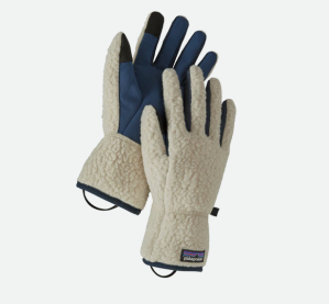 patagonia retro pile gloves, best winter gloves update