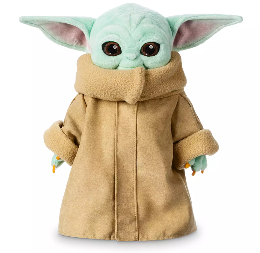best christmas gifts of 2020, baby yoda plushie