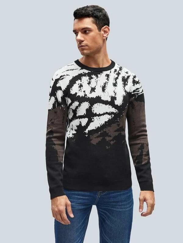 Shein-Men-Tie-Dye-Sweater