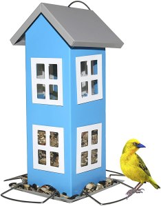 best bird feeders - Sherwoodbase Ridge Wild Bird House Feeder