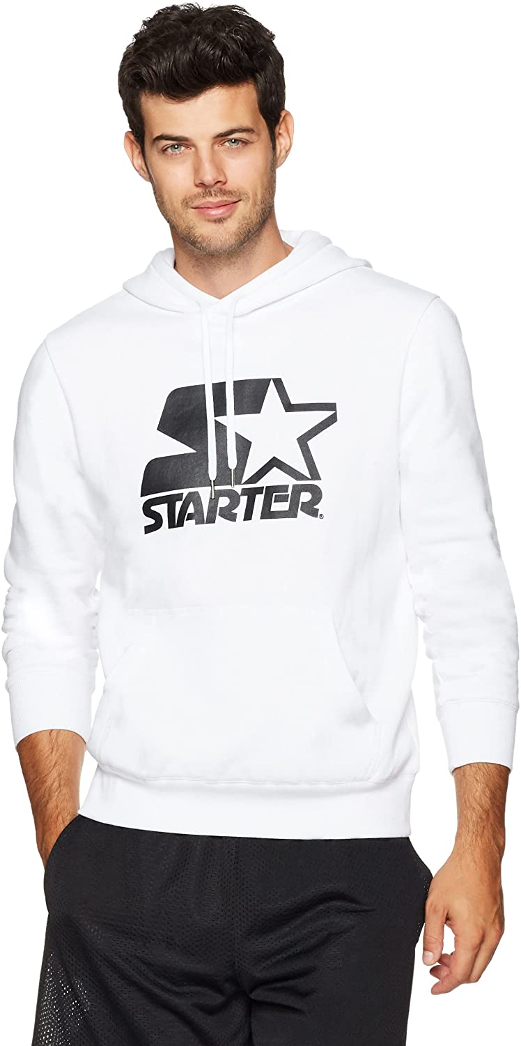 Starter Men's Pullover Logo Hoodie, best hoodies on Amazon