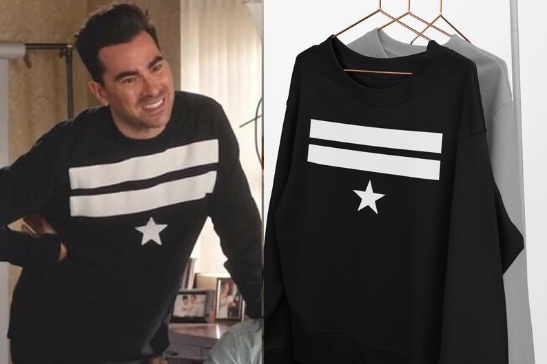 Sue-Jelly-David-Rose-Star-Schitts-Creek-Sweatshirt