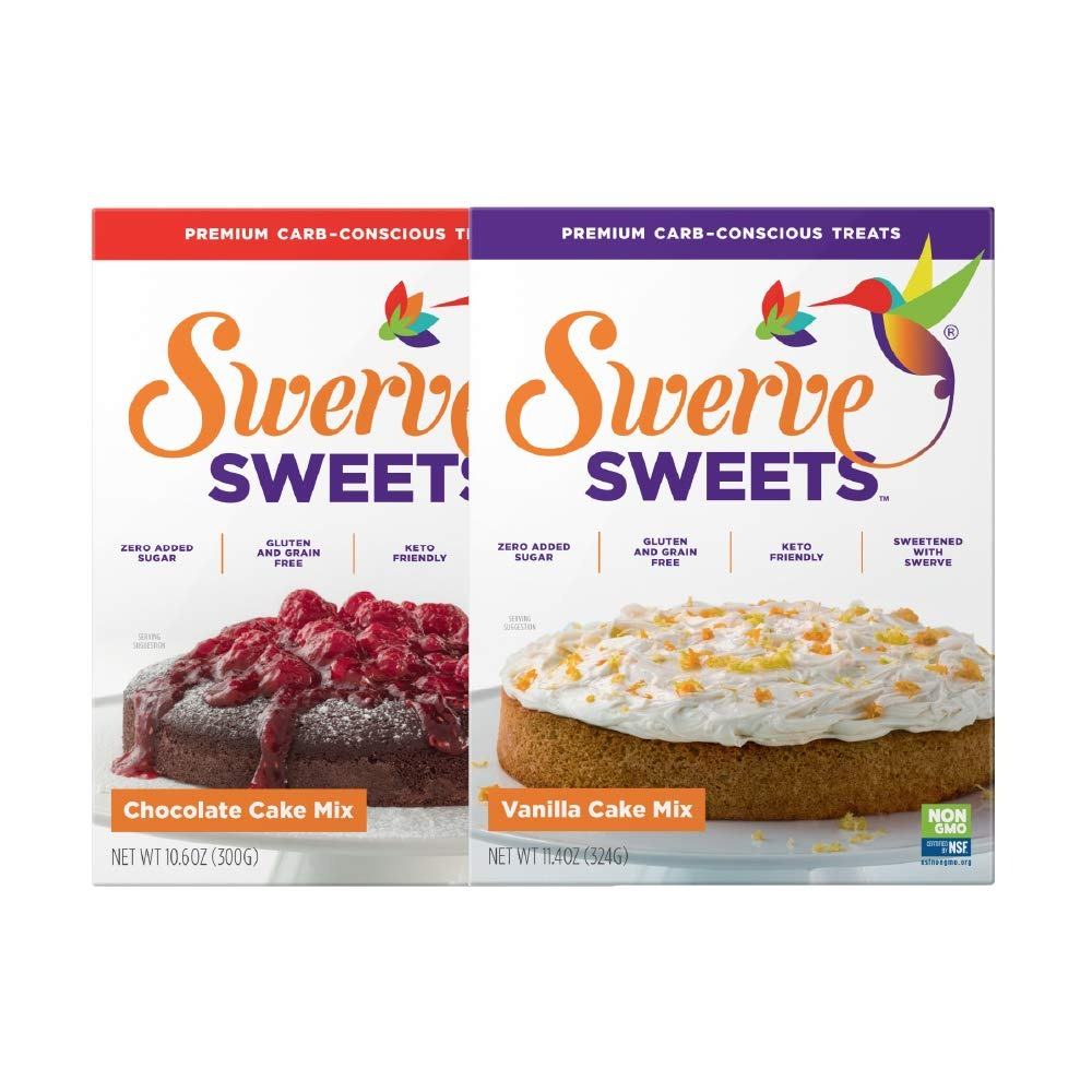 Swerve Sweets Cake Mix Bundle