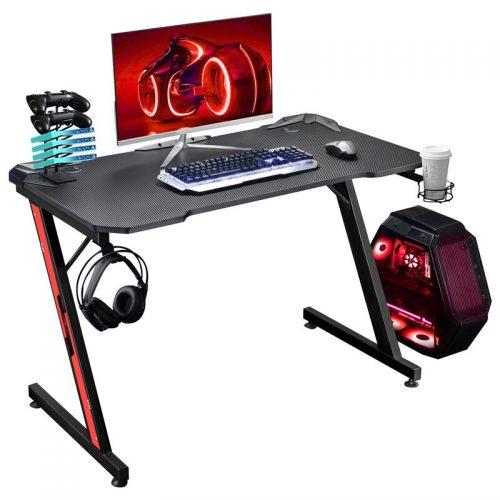 Symple Stuff Sinead Ergonomic Gaming Computer Desk