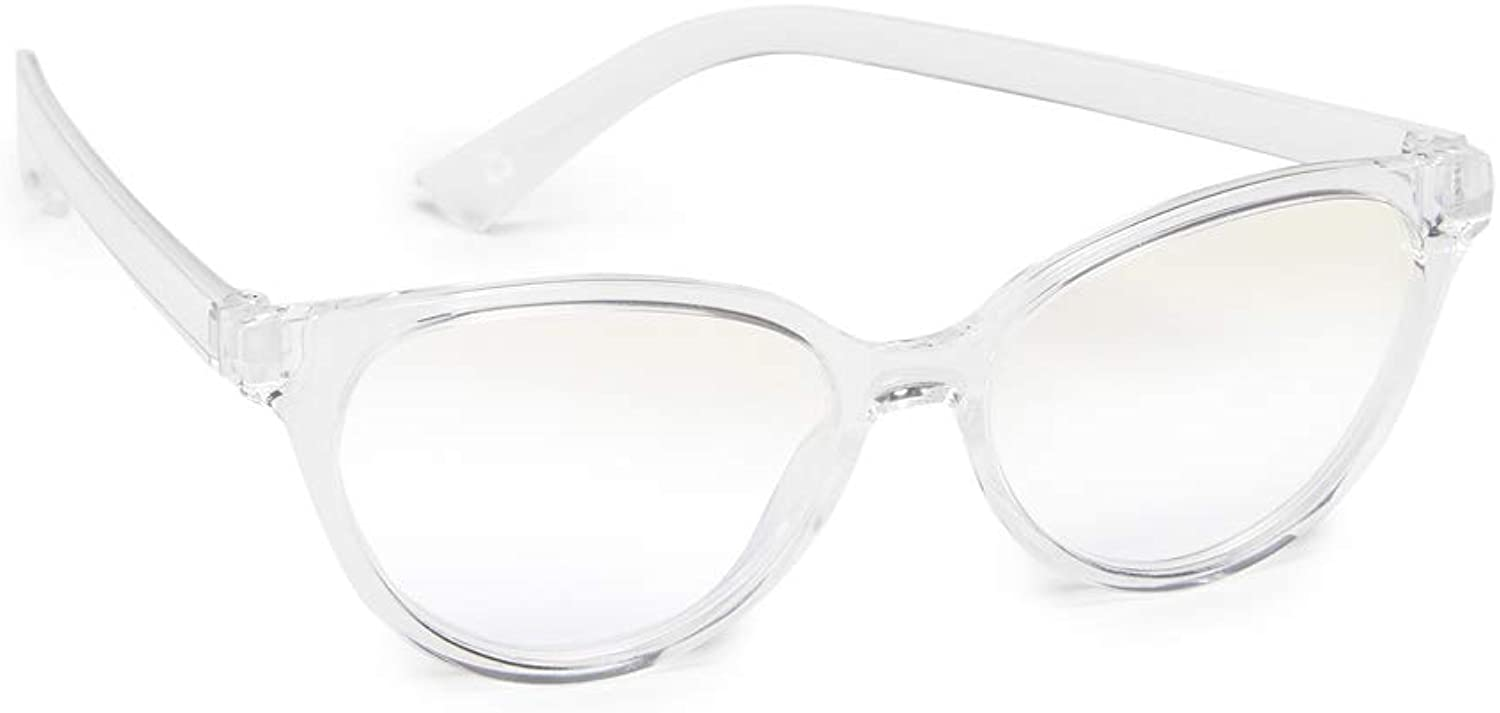 The Book Club Women's Blue Light The Art Of The Snore Glasses
