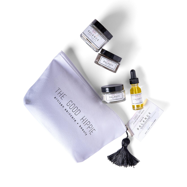 the good hippie balance skin care set, best beauty gift sets
