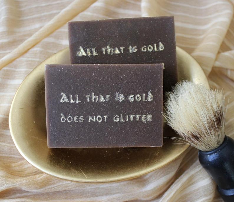 The-MacBath-Aragorms-Shave-Goat-Milk-Soap, best gifts for book lovers