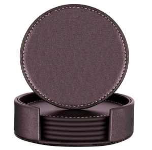 best whiskey gifts thipoten leather coasters