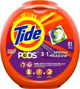 Tide Pods 3 in 1, best laundry pods