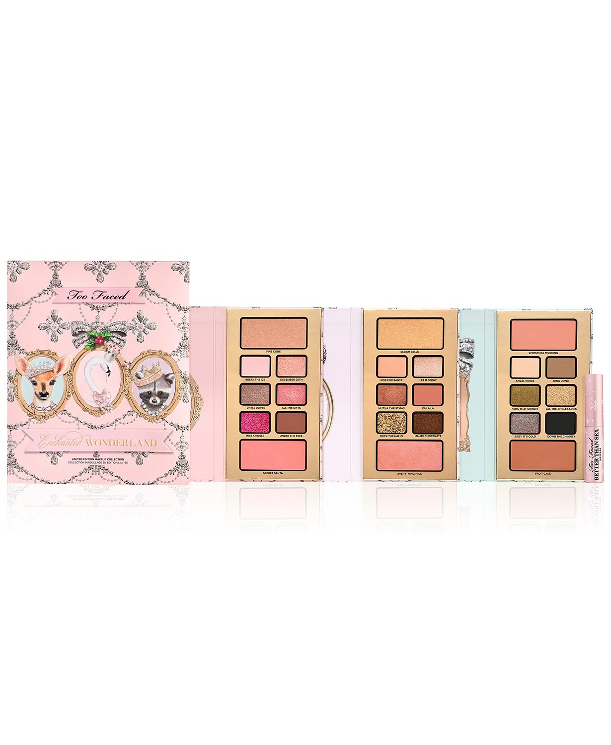 Too Faced Four Piece Enchanted Wonderland Makeup Set
