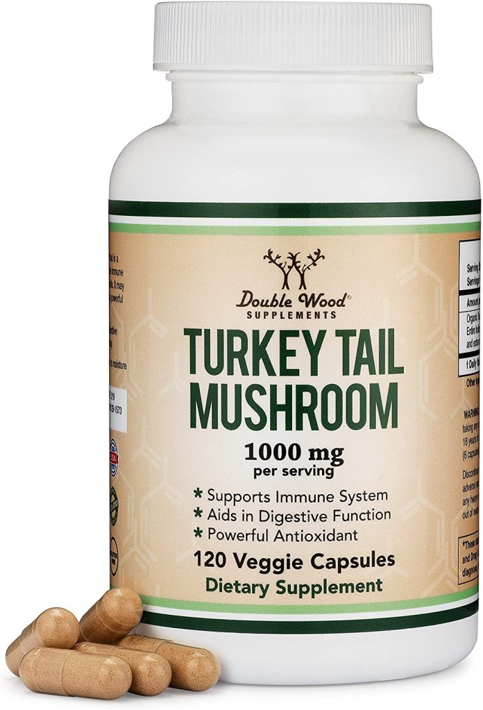 Turkey Tail Mushroom Supplement by DoubleWood