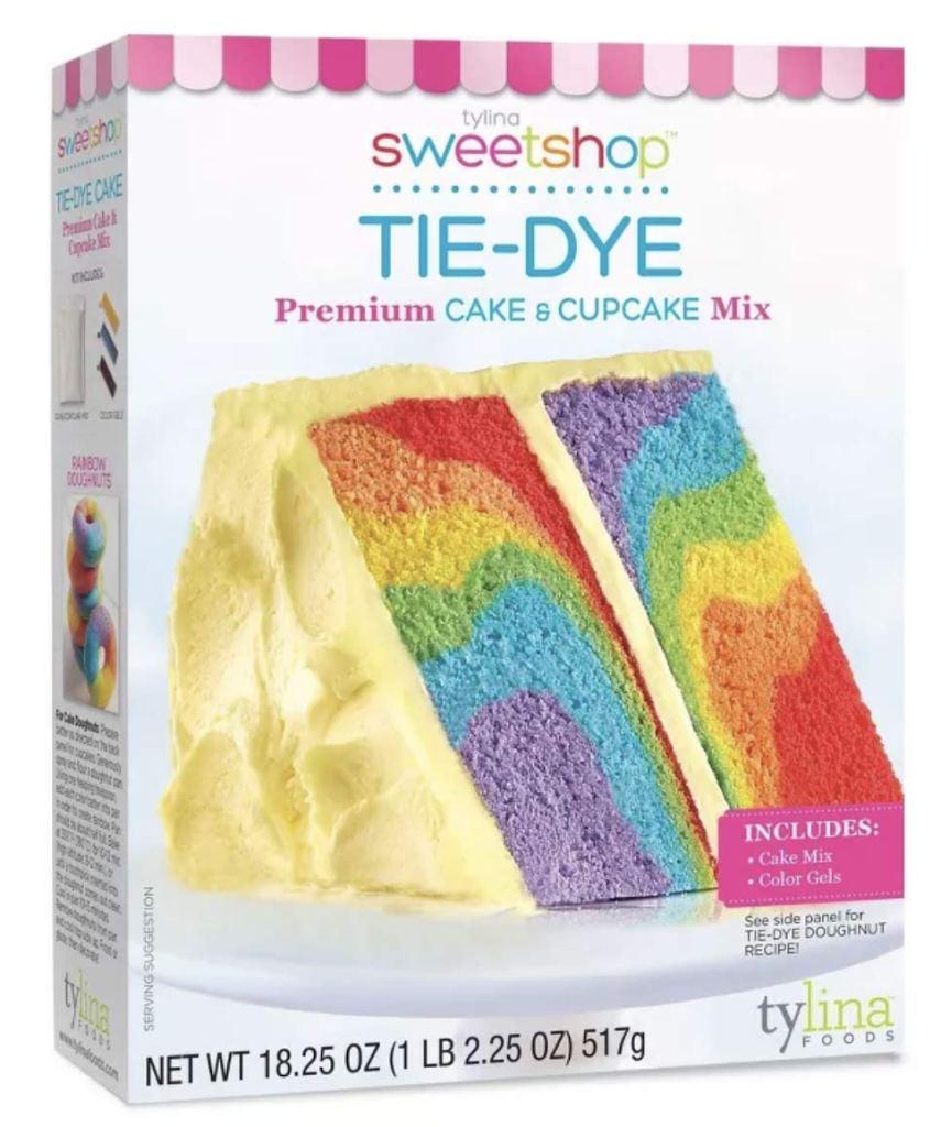 Tylina Tie-Dye Cake Mix