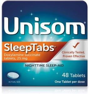 Unisom sleep tablets, best over the counter sleep aid