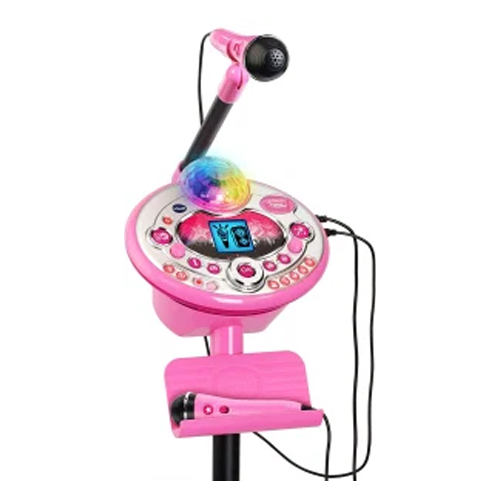 kids karaoke machine vtech