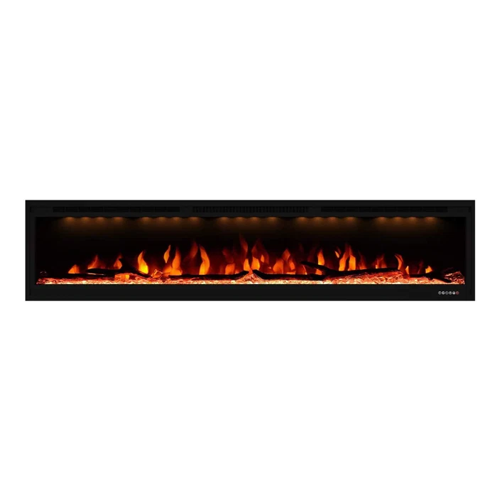 Valuxhome 74-inch wall-mounted electric fireplace