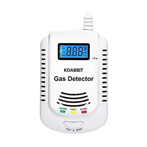 Koabbit Combination Natural Gas and Carbon Monoxide Detector