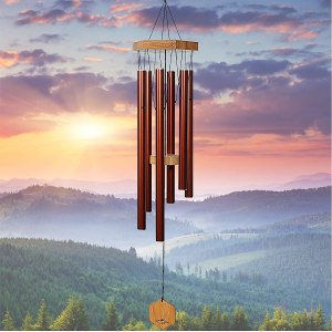 wind chimes upblend outdoors