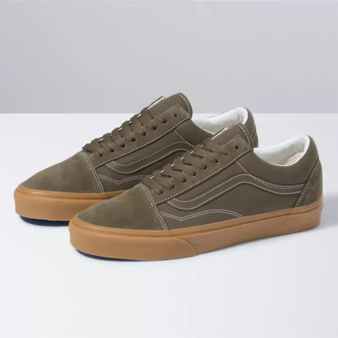 Vans Old Skool sneakers in canteen with gum soles