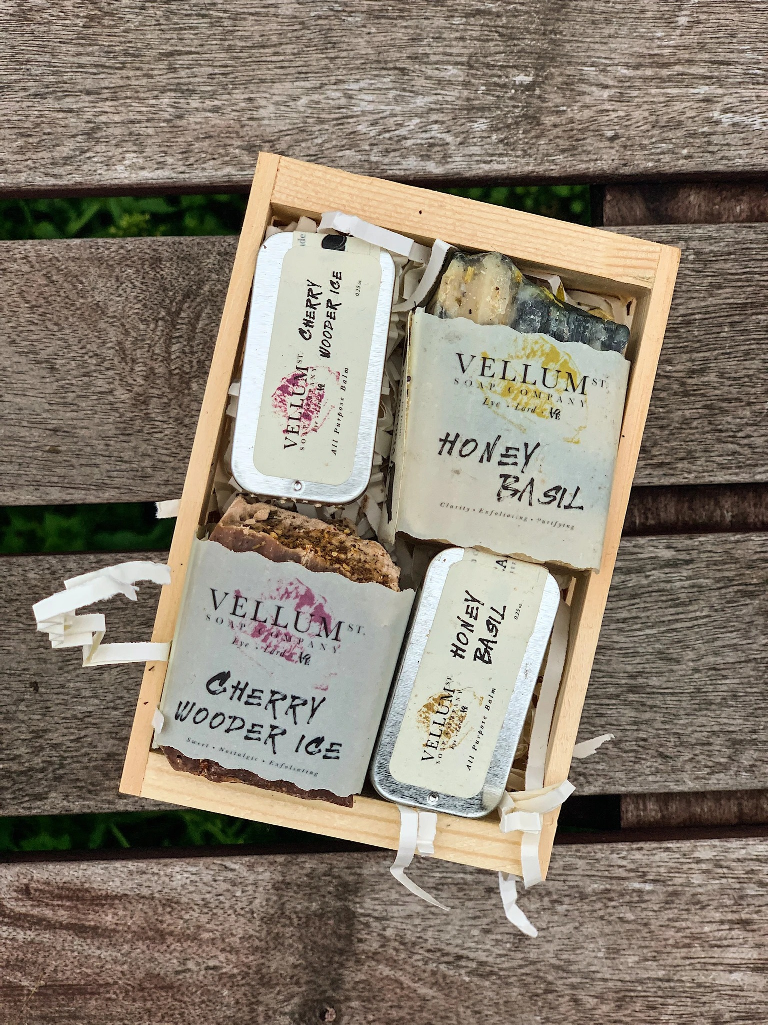 best beauty gift sets - Vellum Street Soap Company mini soap gift box