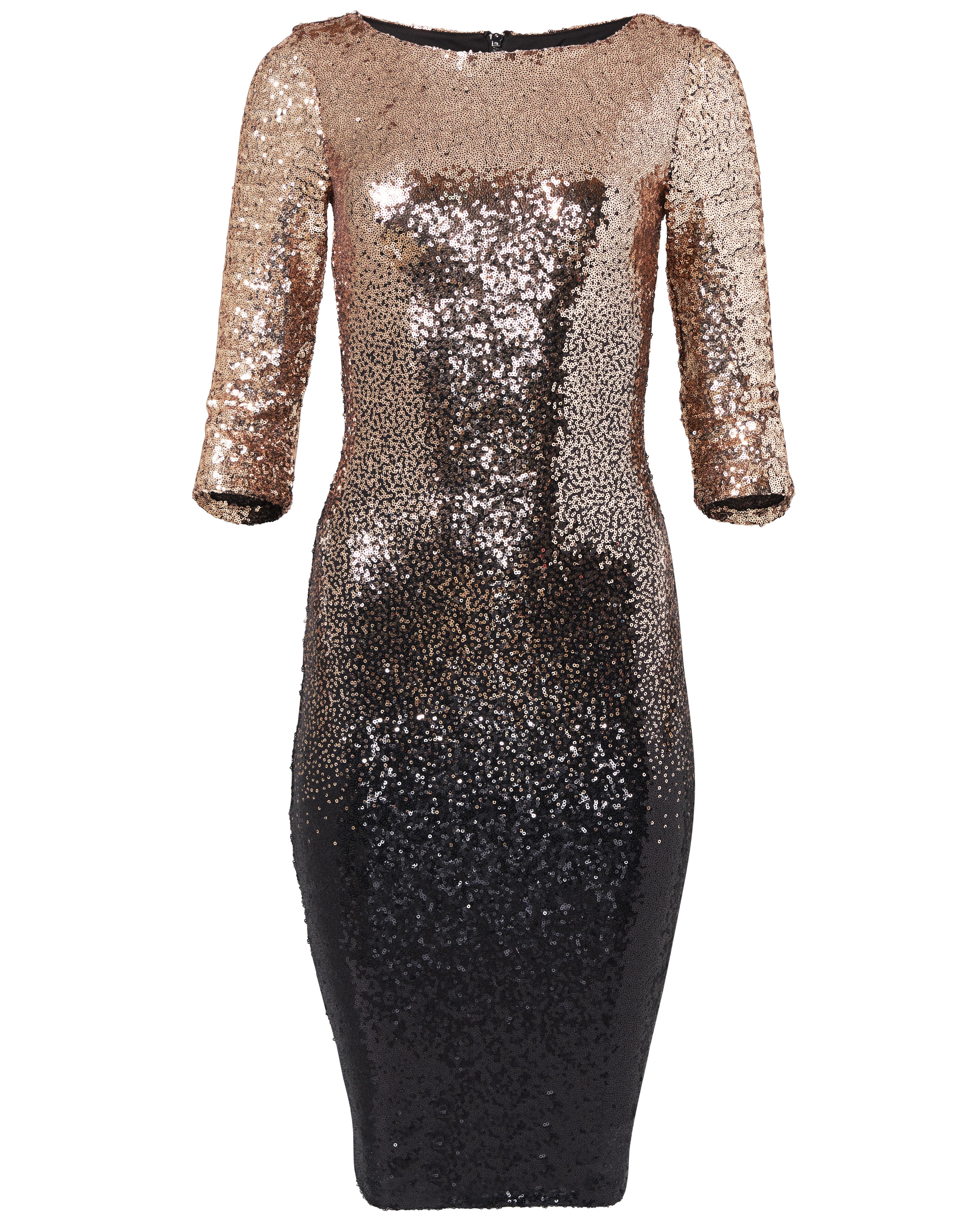 Venus-ombre-sequin-dress