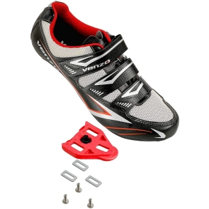 Venzo cycling shoes, spin bike accessories