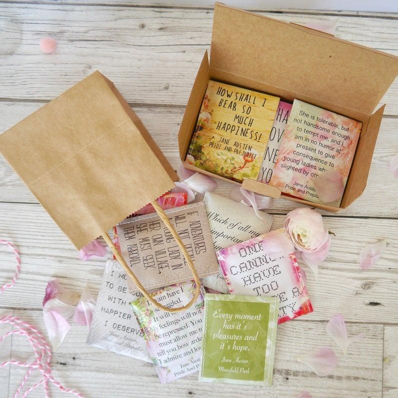 Victoria Mae Designs Jane Austen Tea Gift Set