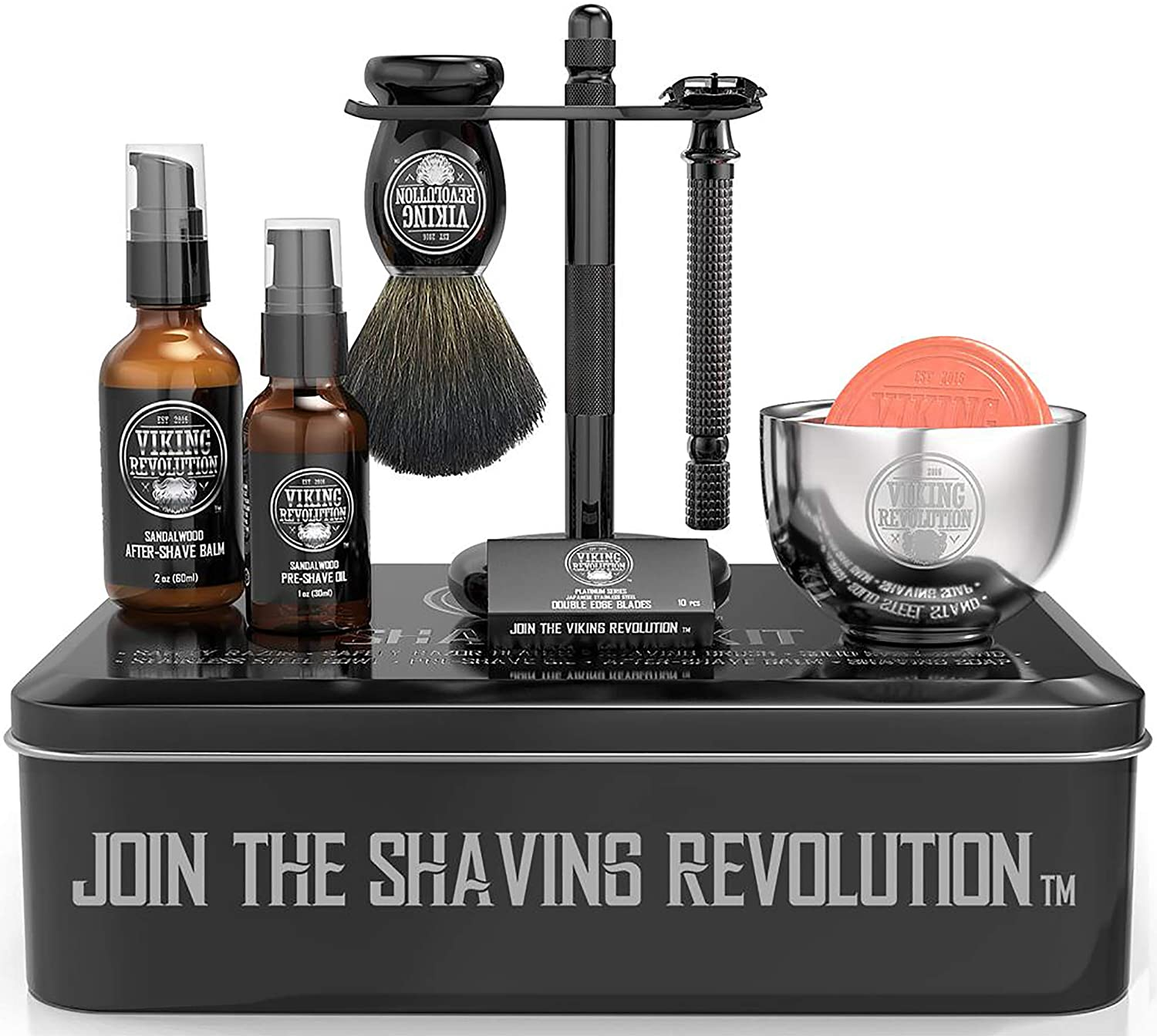 Viking Revolution shaving kit for men