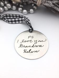 personalized christmas ornaments vintagebrandingco
