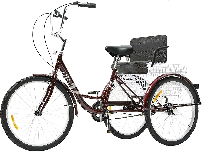 Viribus red adult tricycle