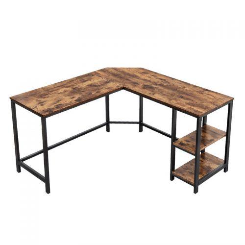 Williston Forge Enprise L-Shaped Desk