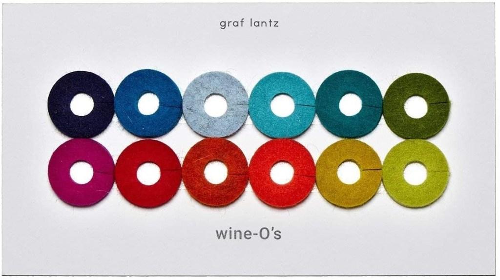 X Graf Lantz Wine-O Wine Glass Markers by Goodee