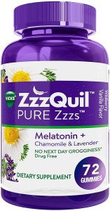 Zzzquil natural sleep aid gummies, best over the counter sleep aid