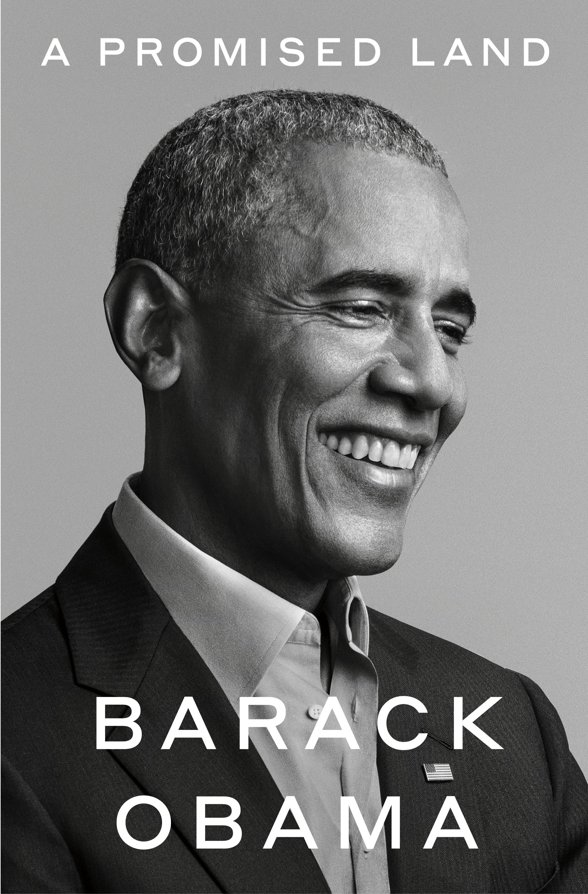 barack obama, a promised land memoir cover