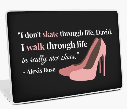 alexis-rose-laptop-skin