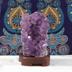 Crystal Hideaway Shop Amethyst Lamp
