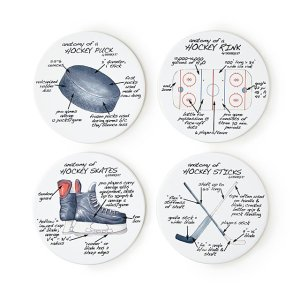 anatomy of sports coasters, gifts for sports fans