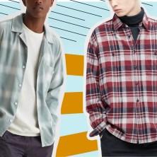 men in flannel shirts